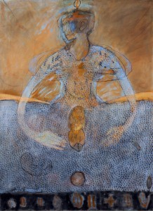 'Moeder Aarde'  2015  110x150  Olieverf op Doek