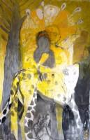 Het Gouden Doek 2012 140x210 waterverf op katoen