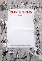 1990 Affiche Rijn & Trijn