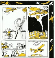 Lesbrief Vliegverhalen, detail 2